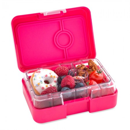 Yumbox MiniSnack 3 Compartment - Lotus Pink