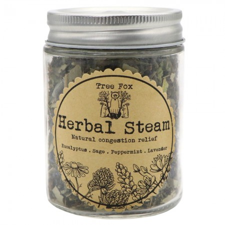 Tree Fox Congestion Relief Herbal Steam