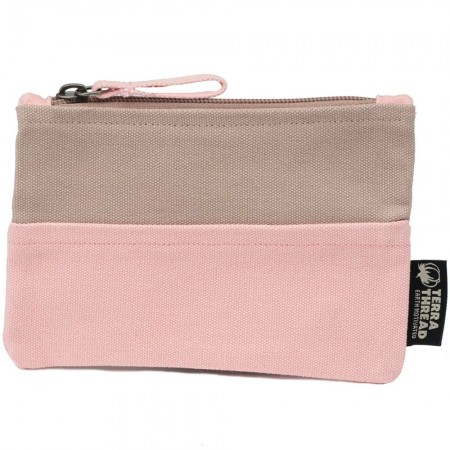 Terra Thread CRE Pouch Double Trouble Sand Pink