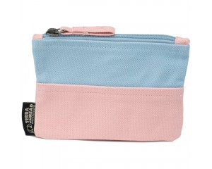 Terra Thread CRE Pouch Double Trouble Baby Blue Pink