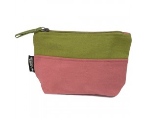 Terra Thread Honua Pouch Mixed Double Olive Green Marsala Red
