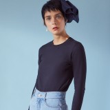 Kowtow Long Sleeve Tee Black
