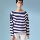 Kowtow Breton Sweater Wide Stripe