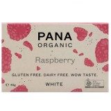 Pana Organic Vegan White Chocolate 45g - Raspberry