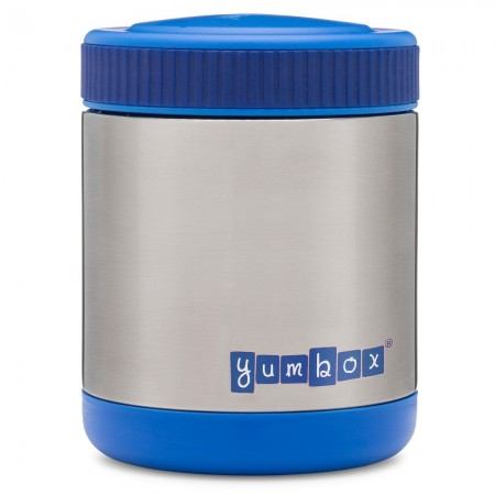 Yumbox Zuppa Insulated Food Jar with Spoon - Neptune Blue