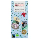 Bennetto Organic Dark Chocolate 100g - Amaranth & Sea Salt