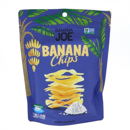 Banana Joe Banana Chips 46g - Sea Salt