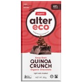 Alter Eco vegan organic dark chocolate - quinoa 80g