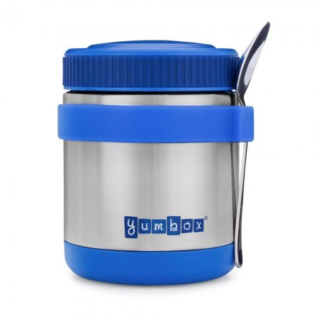 Yumbox Zuppa Insulated Food Jar with Spoon 415ml - Neptune Blue