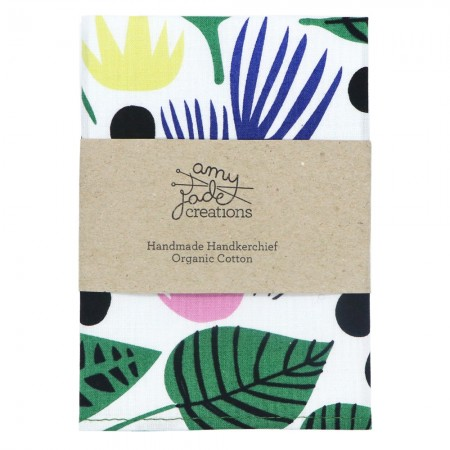 Organic Cotton Handkerchief - Canopy