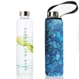 BBBYO Glass Bottle Carry Cover 750ml - Wind