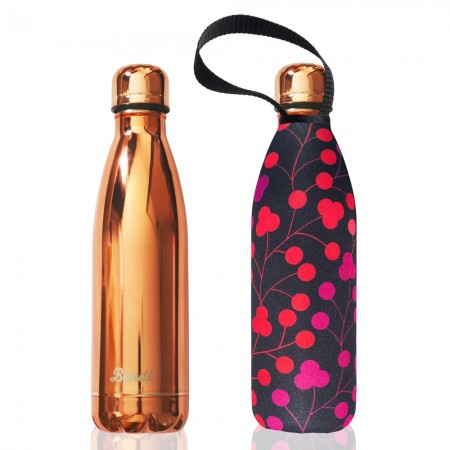 BBBYO Stainless Steel Water Bottle with Cover 750ml - Bondi Walk