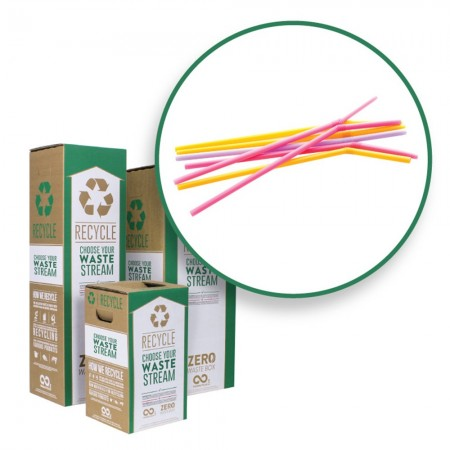 Terracycle Zero Waste Recycle Bin - Straws