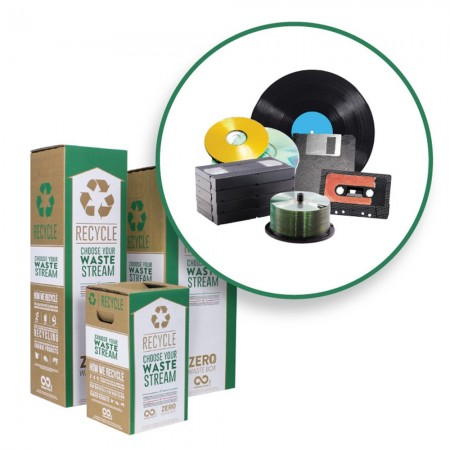 Terracycle Zero Waste Recycle Bin - Media Storage