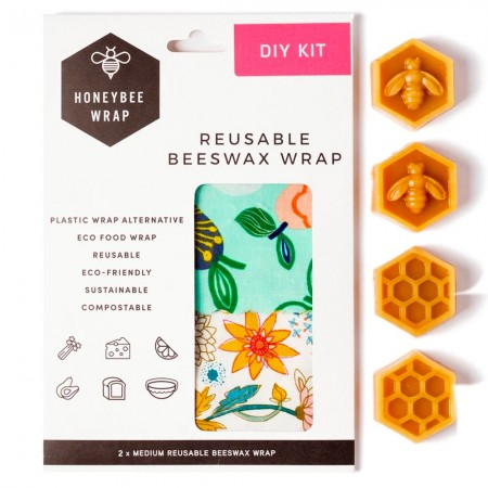 Honeybee Wrap DIY Beeswax Wrap Kit