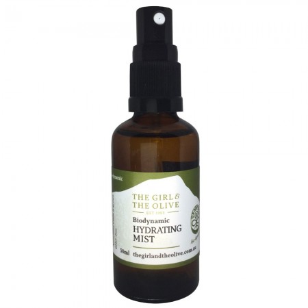 The Girl & The Olive Biodynamic Hydrating Mist 50ml