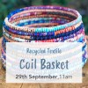 'Recycled Textile Coil Basket' with ZenZero Sun September 29 Gold Coast Workshop