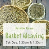 Buy 'Random Weave Basket Weaving with Weed Vines' by Wild Baskets Sat Dec 7 AM