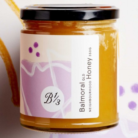 Bee One Third Raw Neighbourhood Honey 350g