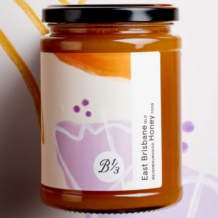 Bee One Third Raw Neighbourhood Honey 700g