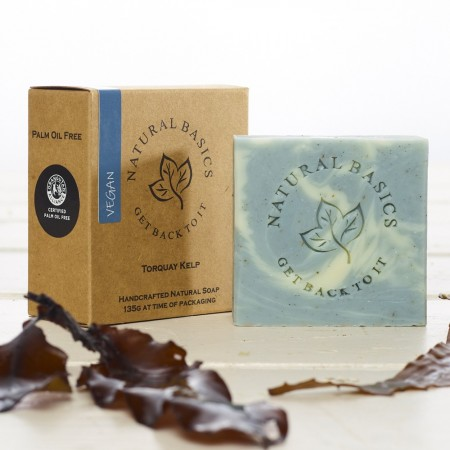 Natural Basics Handcrafted Soap 135g - Torquay Kelp