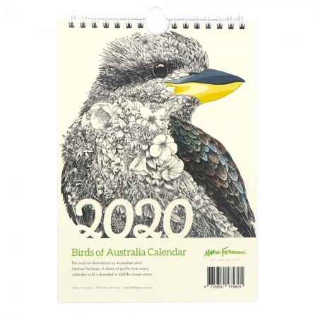 Buy Marini Ferlazzo Birds of Australia 2020 Calendar