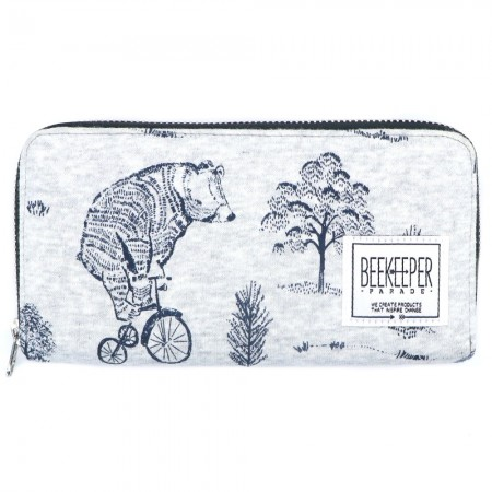Beekeeper Parade Purse Bicycle Bear