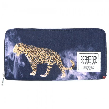 Beekeeper Parade Purse Smokey Leopard