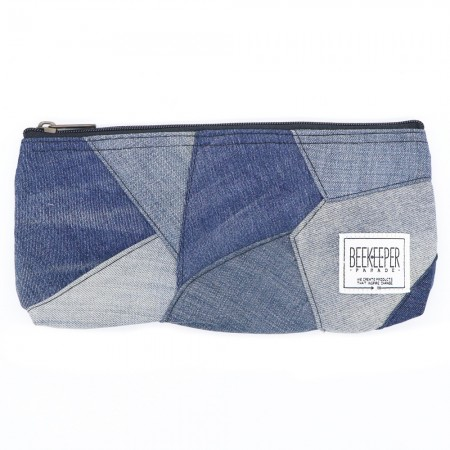 Beekeeper Parade Pencil Case Denim Drive