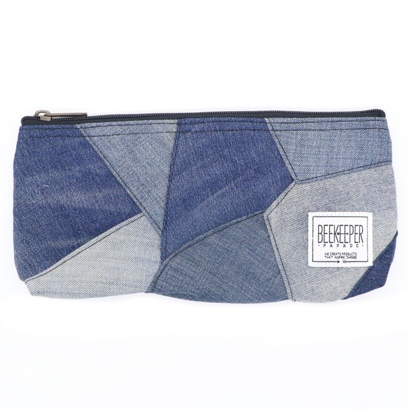 Beekeeper Parade Pouch Large Denim Drive