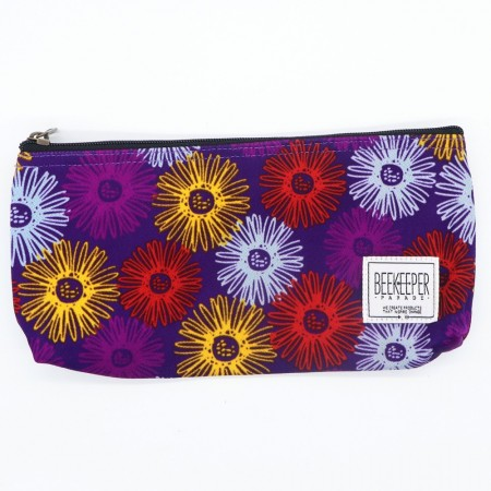 Beekeeper Parade Pencil Case Purple Floral