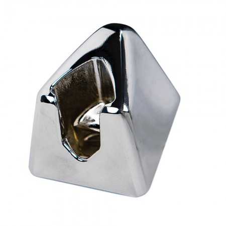 Leaf Shave Razor Stand - Chrome