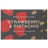 Pana Organic Vegan Chocolate 45g - Strawberry & Pistachio