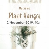Buy 'Macrame Plant Wall Hanging' by Knotting Naked Sat November 2 Brisbane Workshop