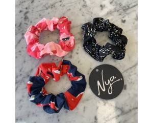 Nya Scrunchie 3 Pack Multi