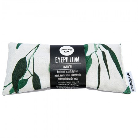 Wheatbags Love Lavender Eyepillow - Gum Green