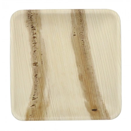 Palm Leaf Plate Small Square 10 Pack