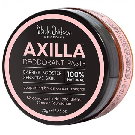 Black Chicken Remedies Axilla Barrier Booster Deodorant Paste for Sensitive Skin (Pink Edition) 75g