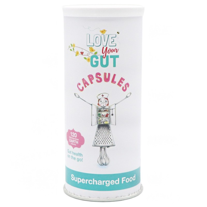 Supercharged Food Love Your Gut 120 Capsules