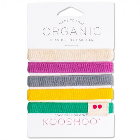 Kooshoo Organic Hair Ties - Multi-coloured