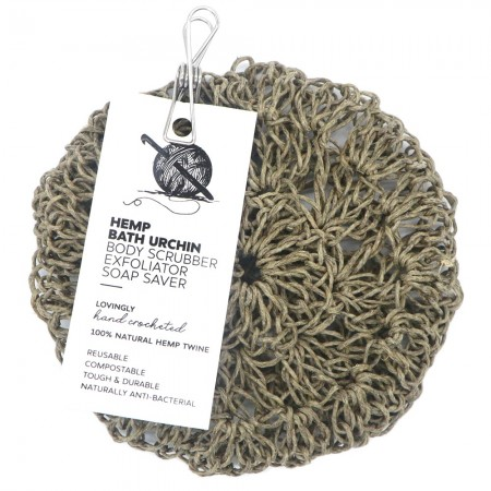 Knotting Naked Hemp Bath Urchin & Soap Saver
