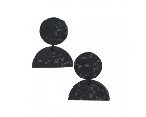 Champ Design Half Moon Earrings