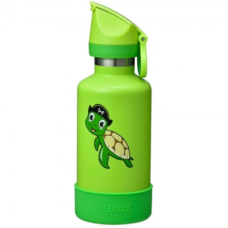 Cheeki Kids Insulated Water Bottle 400ml - Taj the Turtle
