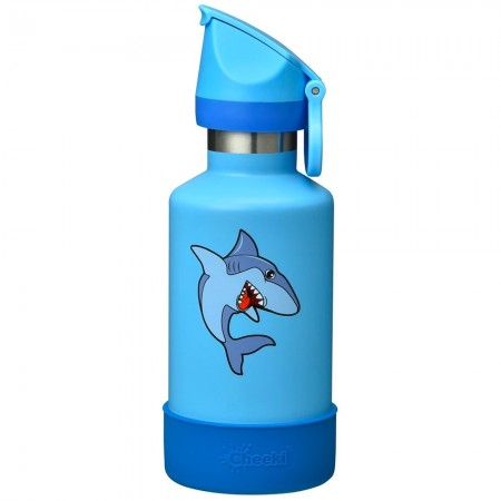 Cheeki Kids Insulated Water Bottle 400ml - Sammy the Shark