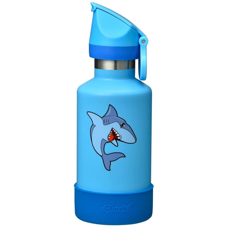 Cheeki Kids Insulated Bottle 400ml - Shark