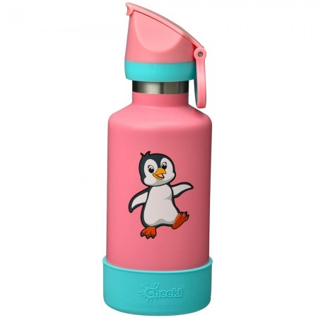 Cheeki Kids Insulated Water Bottle 400ml - Pia the Penguin