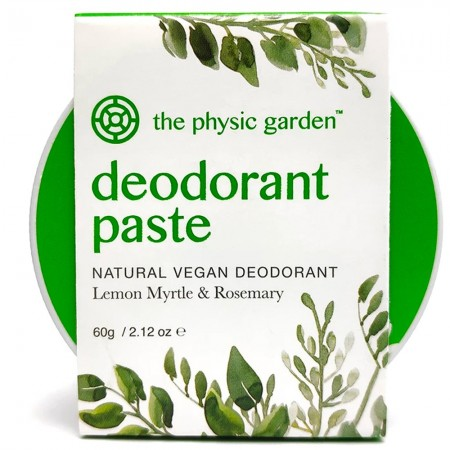 The Physic Garden Deodorant - Lemon Myrtle & Rosemary