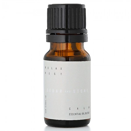 Cedar + Stone Essential Oil Blend - Calm