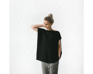 Seaside Tones Top Black
