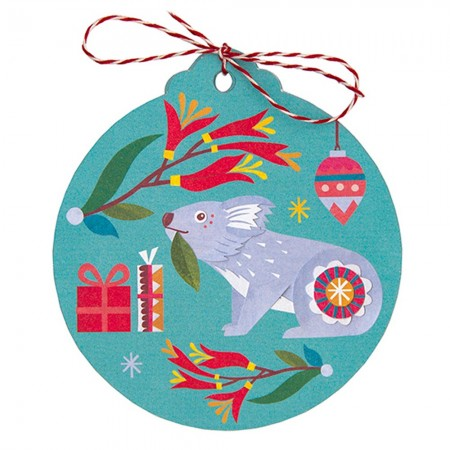 Earth Greetings Christmas Tag 8pk - Nature's Gifts
